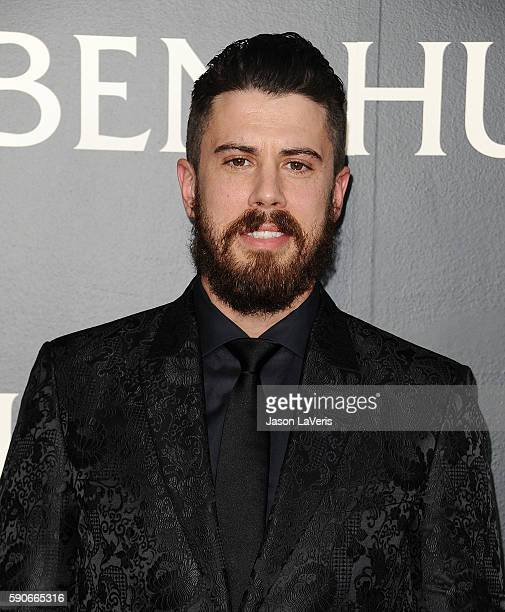 "Actor Toby Kebbell attends the premiere of ""Ben-Hur"" at TCL Chinese Theatre IMAX on August 16, 2016 in Hollywood, California."