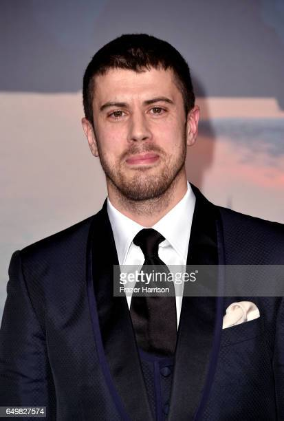 "Actor Toby Kebbell attends the premiere of Warner Bros. Pictures' ""Kong: Skull Island"" at Dolby Theatre on March 8, 2017 in Hollywood, California."