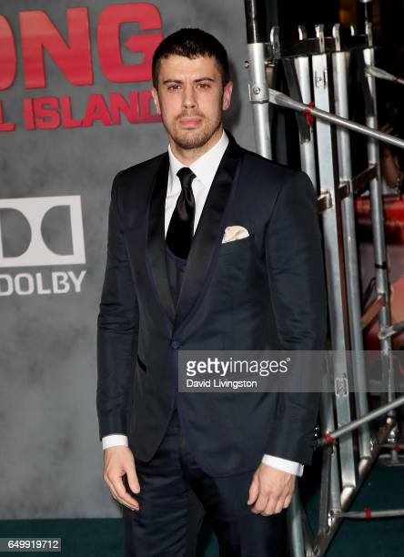 Actor Toby Kebbell attends the premiere of Warner Bros Pictures' 'Kong Skull Island' at Dolby Theatre on March 8 2017 in Hollywood California