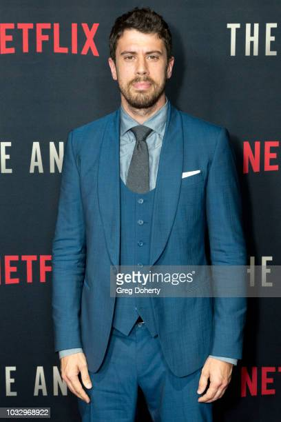 "Actor Toby Kebbell attends the Screening Of Netflix's ""The Angel"" at TCL Chinese 6 Theatres on September 13, 2018 in Hollywood, California."