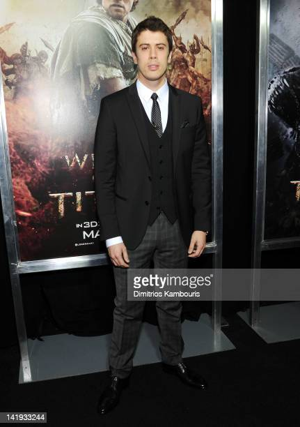 "Actor Toby Kebbell attends the ""Wrath of the Titans"" premiere at the AMC Lincoln Square Theater on March 26, 2012 in New York City."