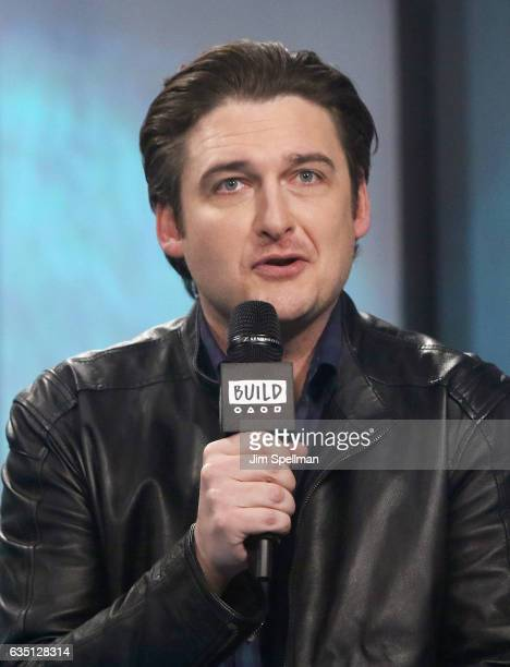 Actor Toby Leonard Moore attends the Build series to discuss Season 2 of 'Billions'at Build Studio on February 13 2017 in New York City