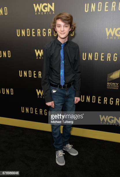 """Actor Toby Nichols attends a For Your Consideration event for WGN America's """"Underground"""" at The Landmark on May 2, 2017 in Los Angeles, California."""