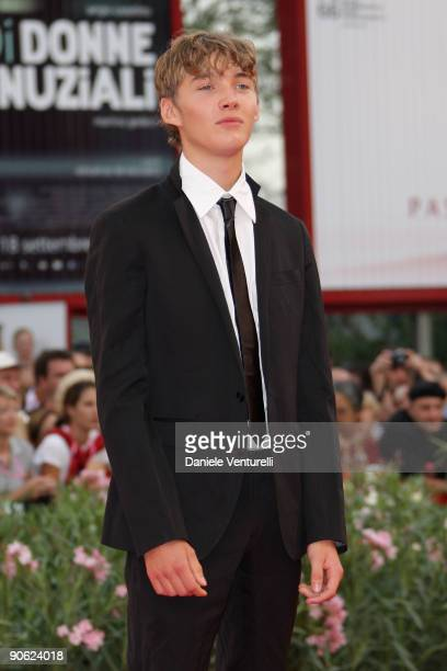 Actor Toby Regbo attends the Closing Ceremony Red Carpet And Inside at The Sala Grande during the 66th Venice Film Festival on September 12 2009 in...