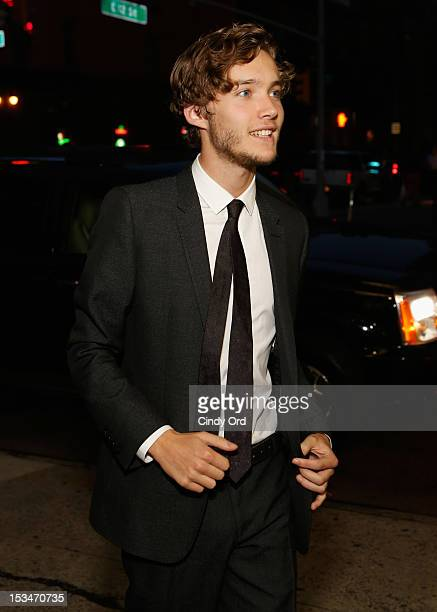 Actor Toby Regbo attends the 'Someday This Pain Will Be Useful To You' New York Screening at Village East Cinema on October 5 2012 in New York City