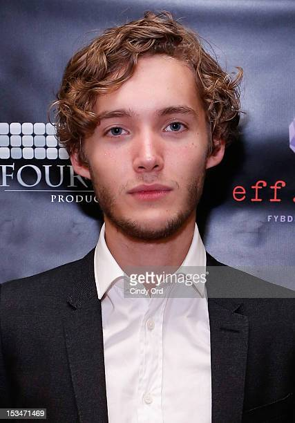 Actor Toby Regbo attends the 'Someday This Pain Will Be Useful To You' New York Screening after party at Kiehl's Since 1851 Flagship Store on October...