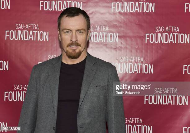 Actor Toby Stephens poses for portrait at SAGAFTRA Foundation Conversations screening of 'Lost In Space' at SAGAFTRA Foundation Screening Room on...