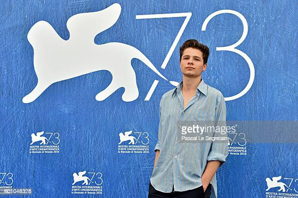 Actor Toby Wallace attends a photocall for 'Boys In The Trees' during the 73rd Venice Film Festival at Palazzo del Casino on September 9 2016 in...