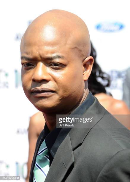 Actor Todd Bridges arrives at the 2010 BET Awards held at the Shrine Auditorium on June 27 2010 in Los Angeles California