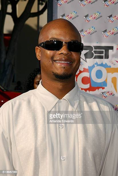 Actor Todd Bridges arrives to the FirstEver BET Comedy Awards at the Pasadena Civic Auditorium September 28 2004 in Pasadena California