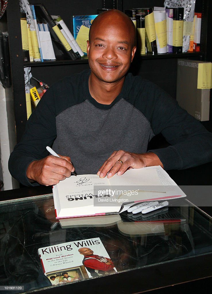 Todd Bridges Book Signing : News Photo