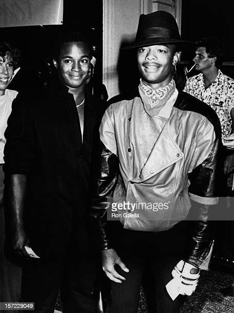 Actor Todd Bridges attends the premiere party for Purple Rain on JUly 26 1984 at the Palace Theater in Hollywood California