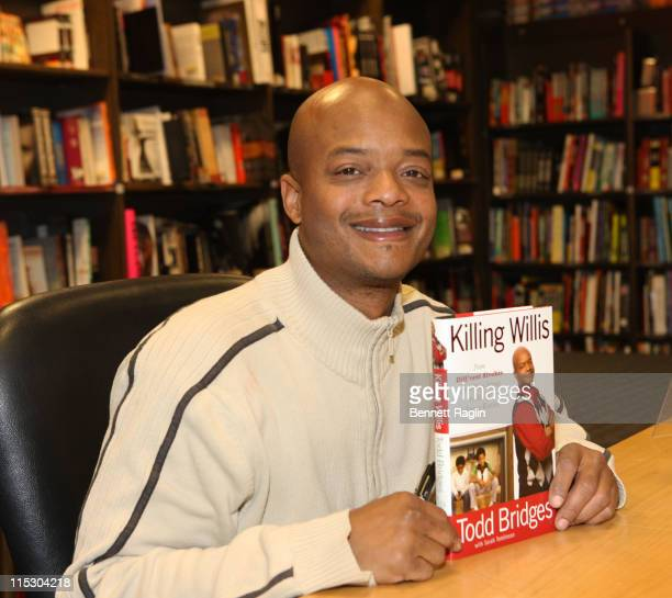 Actor Todd Bridges promotes Killing Willis at Borders Columbus Circle on March 16 2010 in New York City