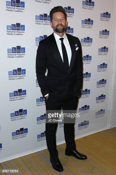 Actor Todd Grinnell attends the 20th Annual National Hispanic Media Coalition Impact Awards Gala at Regent Beverly Wilshire Hotel on February 24 2017...