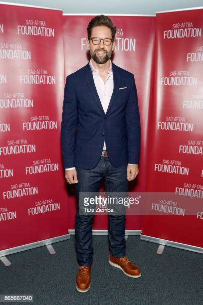 Actor Todd Grinnell attends the SAGAFTRA Foundation conversations and screening of 'One Day At A Time' at SAGAFTRA Foundation Screening Room on...