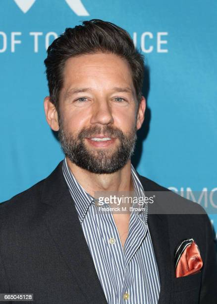 Actor Todd Grinnell attends The Simon Wiesenthal Center's 2017 National Tribute Dinner at The Beverly Hilton Hotel on April 5 2017 in Beverly Hills...