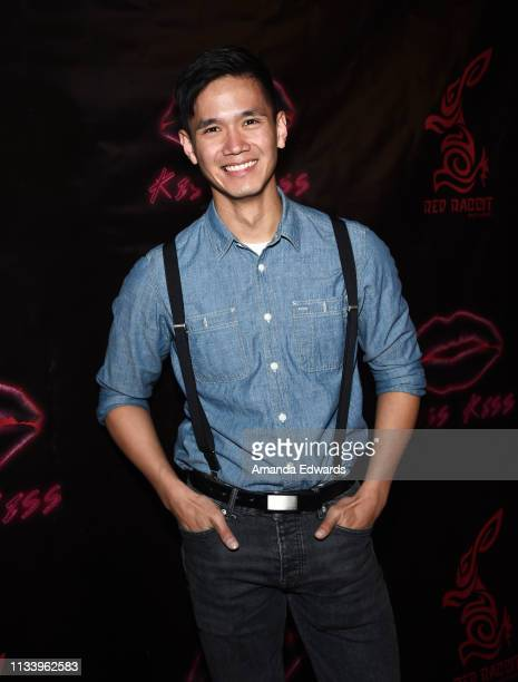 Actor Todd Lien arrives at the Los Angeles premiere of 'KISS KISS' at the Ahrya Fine Arts Theater by Laemmle on March 05 2019 in Beverly Hills...