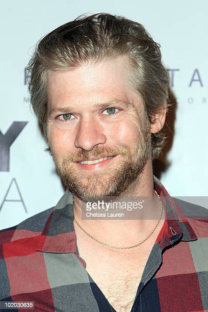Actor Todd Lowe arrives at the True Blood season 3 cast party at H Lounge on June 12 2010 in Los Angeles California