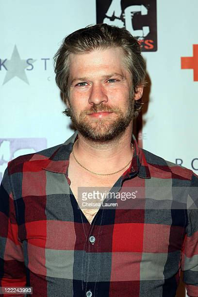 Actor Todd Lowe arrives at the True Blood season 3 cast party benefiting the American Red Cross at H Lounge on June 12 2010 in Los Angeles California