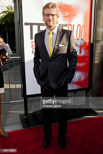 Actor Todd Lowe attends HBO's True Blood Season 5 Los Angeles premiere at ArcLight Cinemas Cinerama Dome on May 30 2012 in Hollywood California