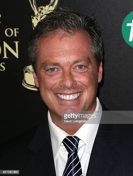 Actor Todd Newton attends the 41st Annual Daytime Emmy Awards at The Beverly Hilton Hotel on June 22 2014 in Beverly Hills California