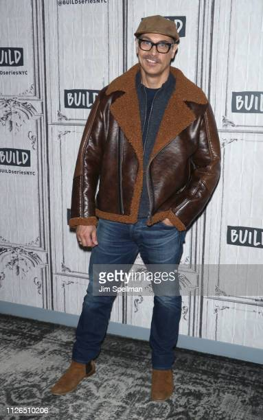 Actor Todd Stashwick attends the Build Series to discuss Kim Possible at Build Studio on January 31 2019 in New York City