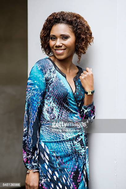 Actor Toks Olagundoye is photographed for The Wrap on May 4 2016 in Los Angeles California