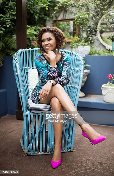Actor Toks Olagundoye is photographed for The Wrap on May 4, 2016 in Los Angeles, California.