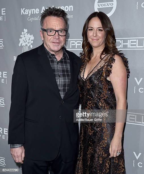 Actor Tom Arnold and Ashley Groussman arrive at the 5th Annual Baby2Baby Gala at 3LABS on November 12 2016 in Culver City California