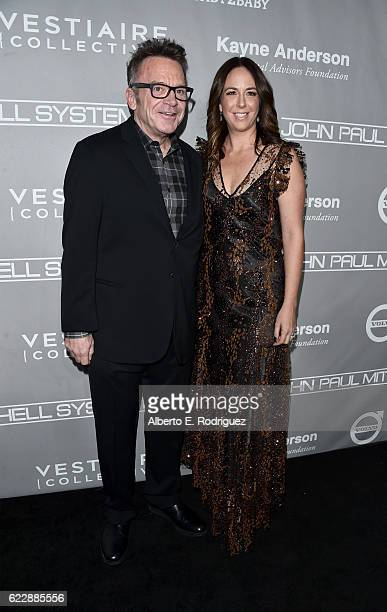 Actor Tom Arnold and Ashley Groussman attend the 5th Annual Baby2Baby Gala at 3LABS on November 12 2016 in Culver City California