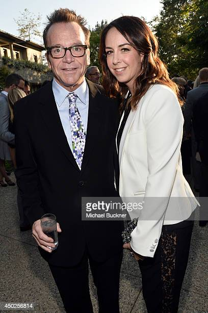 Actor Tom Arnold and Ashley Groussman inside the 13th Annual Chrysalis Butterfly Ball sponsored by Audi Kayne Anderson and Stella Artois in Los...