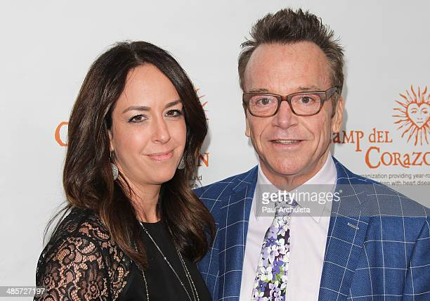 Actor Tom Arnold and his Wife Producer Ashley Groussman Arnold attend Camp del Corazon's 11th Annual Gala del Sol charity event at Dolby Theatre on...
