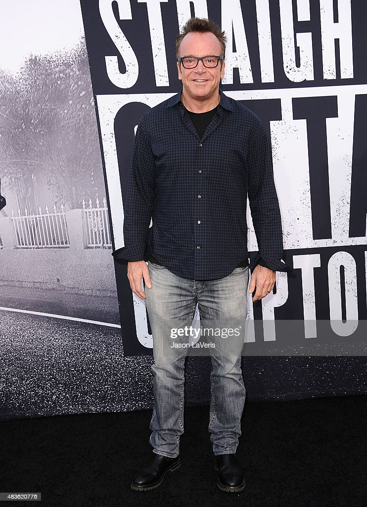 Actor Tom Arnold attends the premiere of 'Straight Outta Compton' at Microsoft Theater on August 10, 2015 in Los Angeles, California.