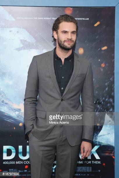 Actor Tom Bateman attends the 'DUNKIRK' New York Premiere on July 18 2017 in New York City