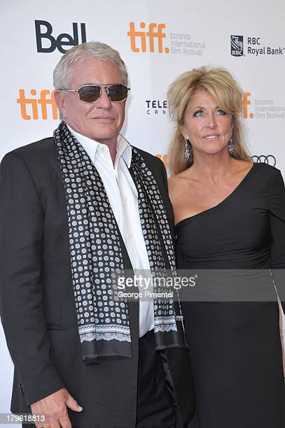 Actor Tom Berenger and wife Laura Moretti arrive at 'The Big Chill' 30th Anniversary screening during the 2013 Toronto International Film Festival at...