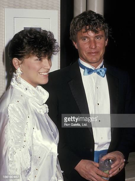 Actor Tom Berenger and wife Lisa Berenger attend 39th Annual Director's Guild Awards on March 7 1987 at the Sheraton Premiere Hotel in Los Angeles...