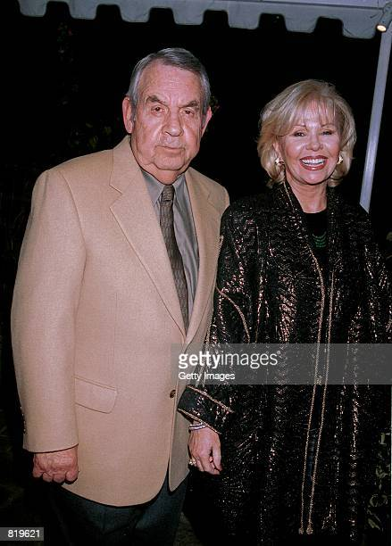 Actor Tom Bosley and his wife Patricia Carr attend the 20th Anniversary Jimmy Stewart Relay Marathon Celebrity VIP Kickoff Cocktail Reception March...