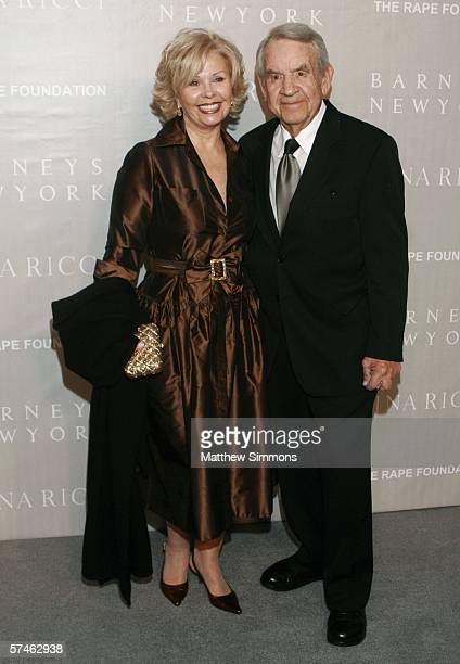 Actor Tom Bosley and his wife Patricia Carr attend the Nina Ricci Fall 2006 Collection fashion show to benefit The Rape Foundation at Barneys New...