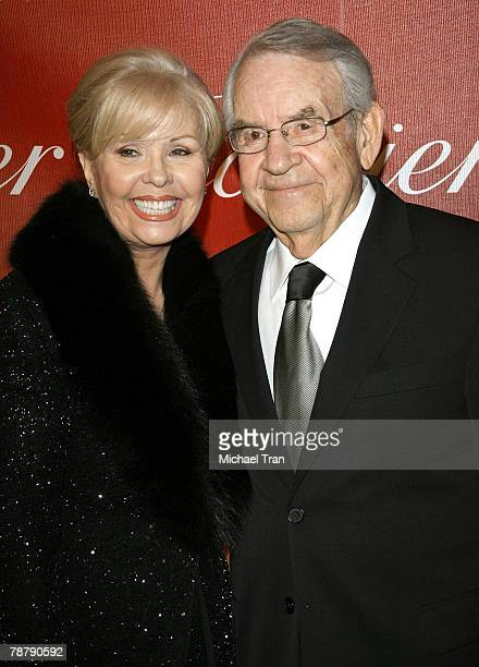 Actor Tom Bosley and wife Patricia Carr arrive at the 2008 Palm Springs International Film Festival Gala held at the Palm Springs Convention Center...