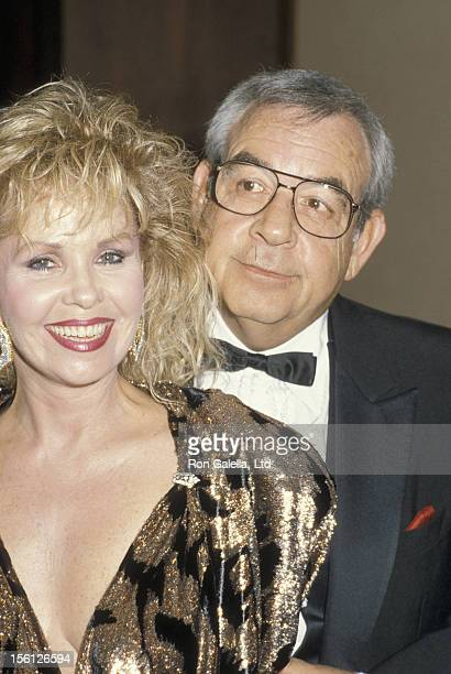Actor Tom Bosley and wife Patricia Carr attending 31st Annual Thalians Ball Benefit on October 11 1986 at the Century Plaza Hotel in Century City...