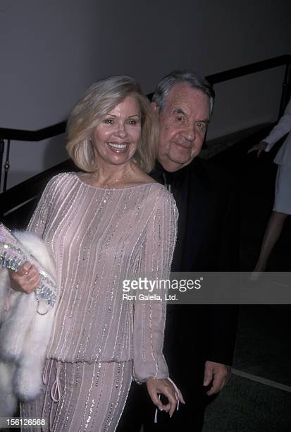 Actor Tom Bosley and wife Patricia Carr attending 93rd Birthday Party for George Burns on July 22 2001 at the Beverly Hills Hotel in Beverly Hills...