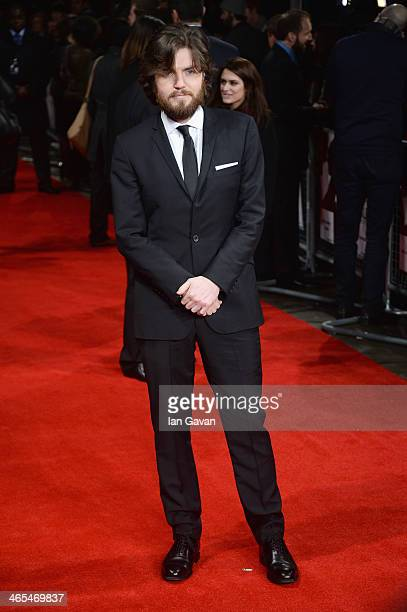 Actor Tom Burke attends 'The Invisible Woman' UK Premiere at the Odeon Kensington on January 27 2014 in London England