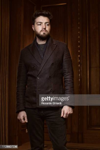Actor Tom Burke poses for a portrait during the 69th Berlinale International Film Festival on February 2019 in Berlin Germany