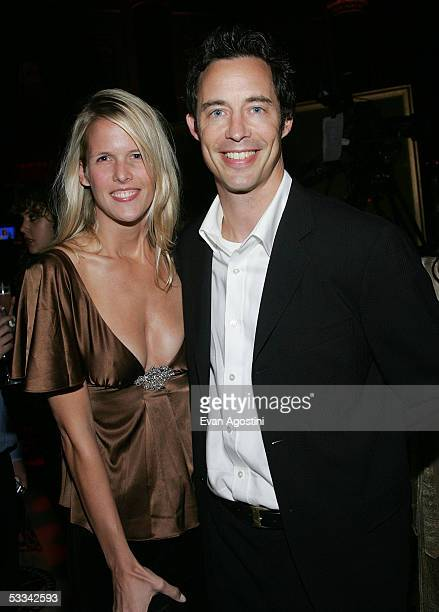 Actor Tom Cavanagh and wife Maureen attend the Seventh Annual Project ALS New York City Gala Also known as Lou Gehrig's disease ALS attacks the...