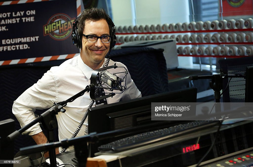Actor Tom Cavanagh visits the SiriusXM Studios on October 21, 2014 in New York City.