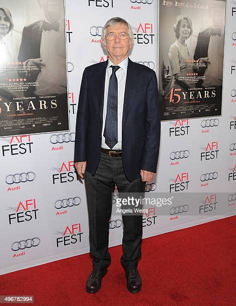 Actor Tom Courtenay arrives at the AFI FEST 2015 Presented by Audi Tribute to Charlotte Rampling and Tom Courtenay event at the TCL Chinese Theatre...