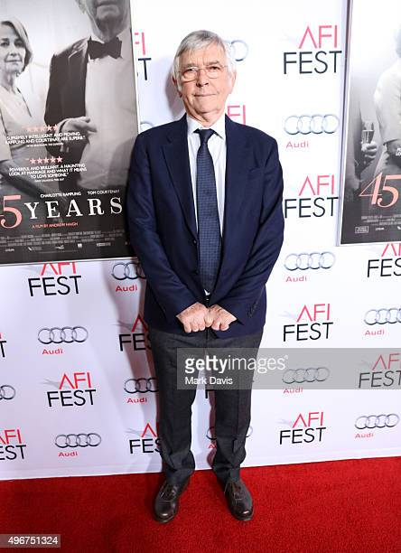 """Actor Tom Courtenay attends the Tribute to Charlotte Rampling and Tom Courtenay - Screening of Sundance Selects' """"45 Years"""" at the Hollywood..."""