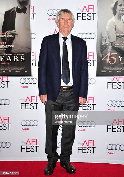 Actor Tom Courtenay attends the Tribute to Charlotte Rampling and Tom Courtenay Screening of Sundance Selects' 45 Years at the Hollywood Roosevelt...