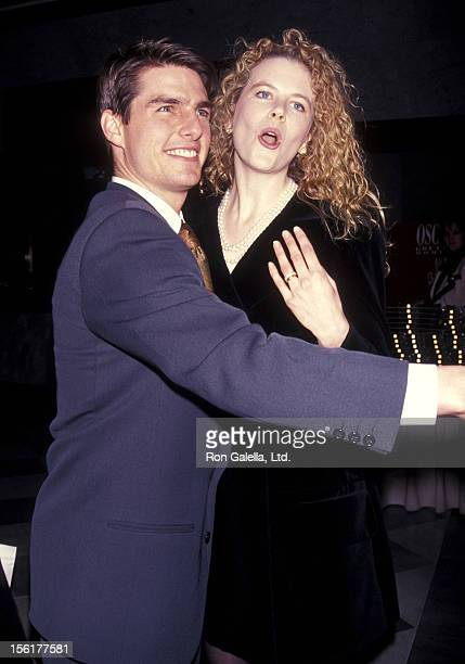 Actor Tom Cruise and actress Nicole Kidman attend The Academy of Motion Picture Arts Sciences and The Museum of Television Radio Celebrate the Launch...