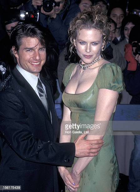 Actor Tom Cruise and actress Nicole Kidman attend 'The Portrait of a Lady' New York City Premiere on December 7 1996 at the United Artists Theatre in...